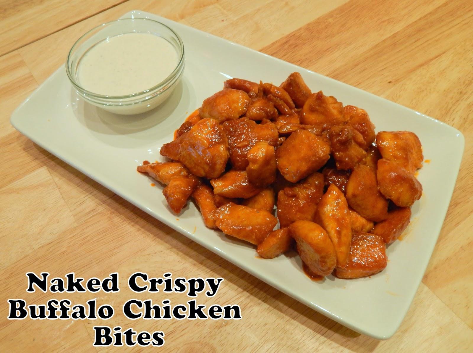Crispy Naked Buffalo Chicken Bites | Cut The Wheat