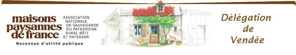 maisons paysannes de france Vendée