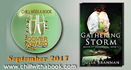 Book Cover of the Month for September -The Gathering Storm