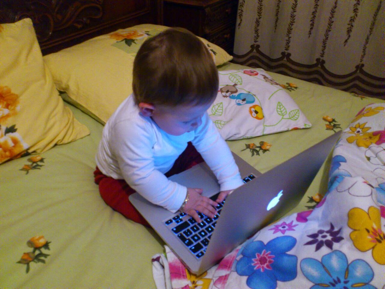 bilgisayar bebek