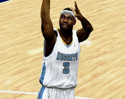 NBA 2K13 Ty Lawson Cyberface Mods