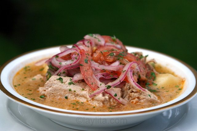 Encebollado ecuador cuisine hangover cure