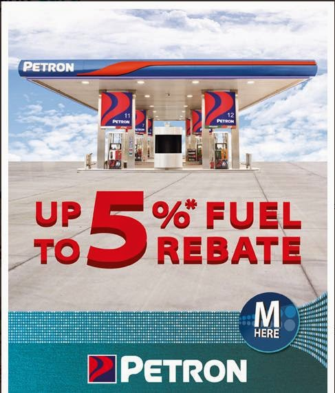 Metrobank Credit Card at PETRON 5% Fuel Rebate