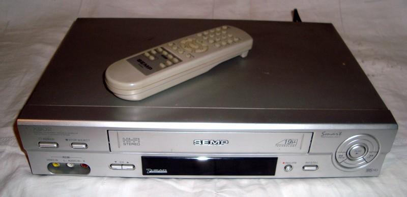 Video k-7 Semp Hi-Fi Estéreo a Venda