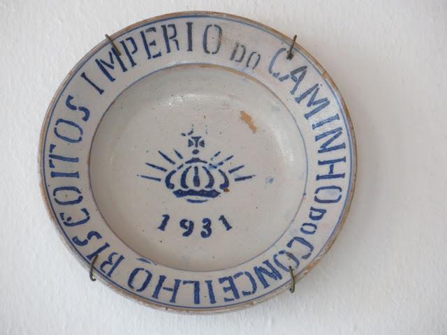 Prato Regional exposto no Império do Espírito Santo do Caminho do Concelho, Biscoitos, Ilha Terceira, Açores