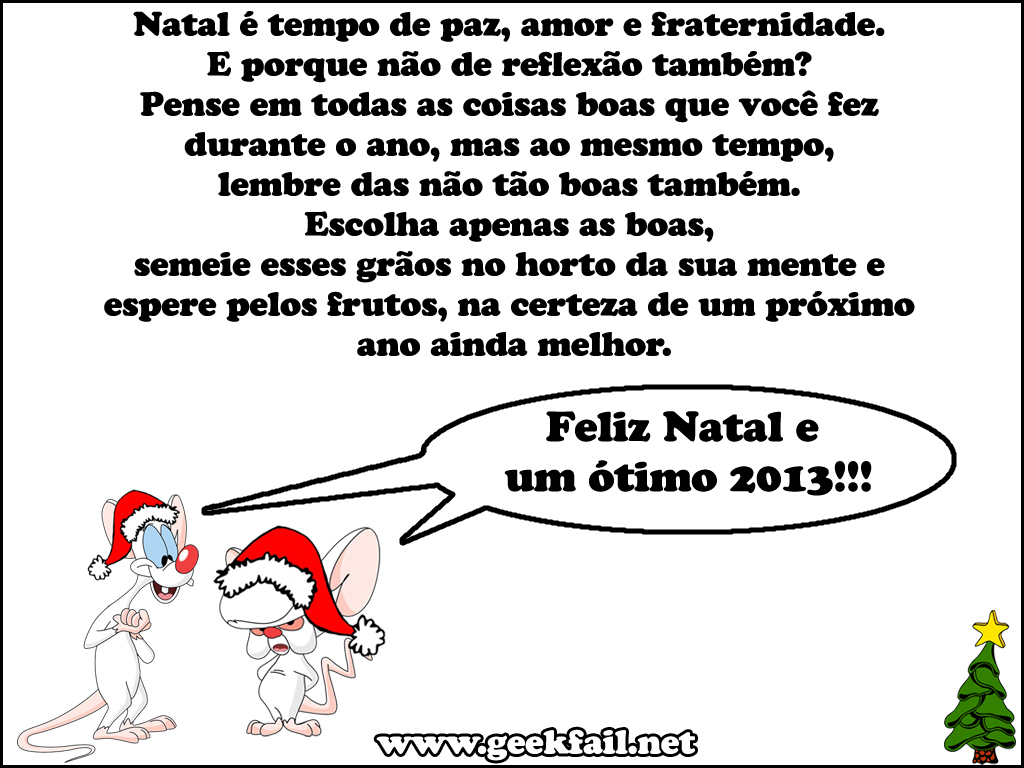 geek fail feliz natal 2012