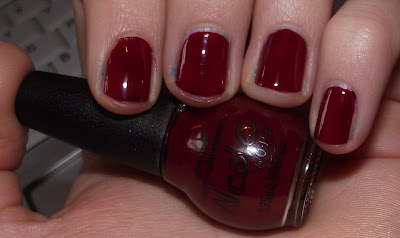 OPI Nail Polish Review - Sealed With A Kris Swatch