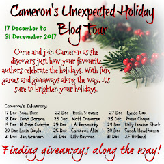 Cameron's Unexpected Blog Tour