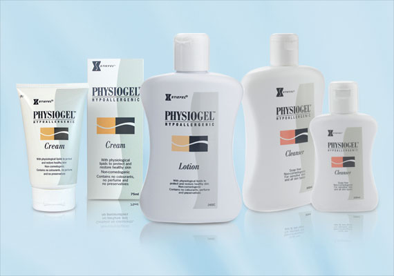 Physiogel:Defy dry, sensitive skin with lasting moisture from Physiogel