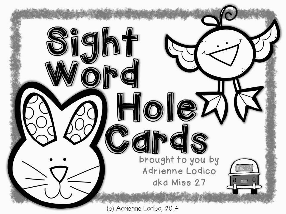 http://www.teacherspayteachers.com/Product/Self-Correcting-Sight-Word-Hole-Cards-FREE-from-Fry-words-226-250-Black-Line-1169164