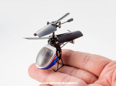 Helikopter Paling Terkecil Di Dunia