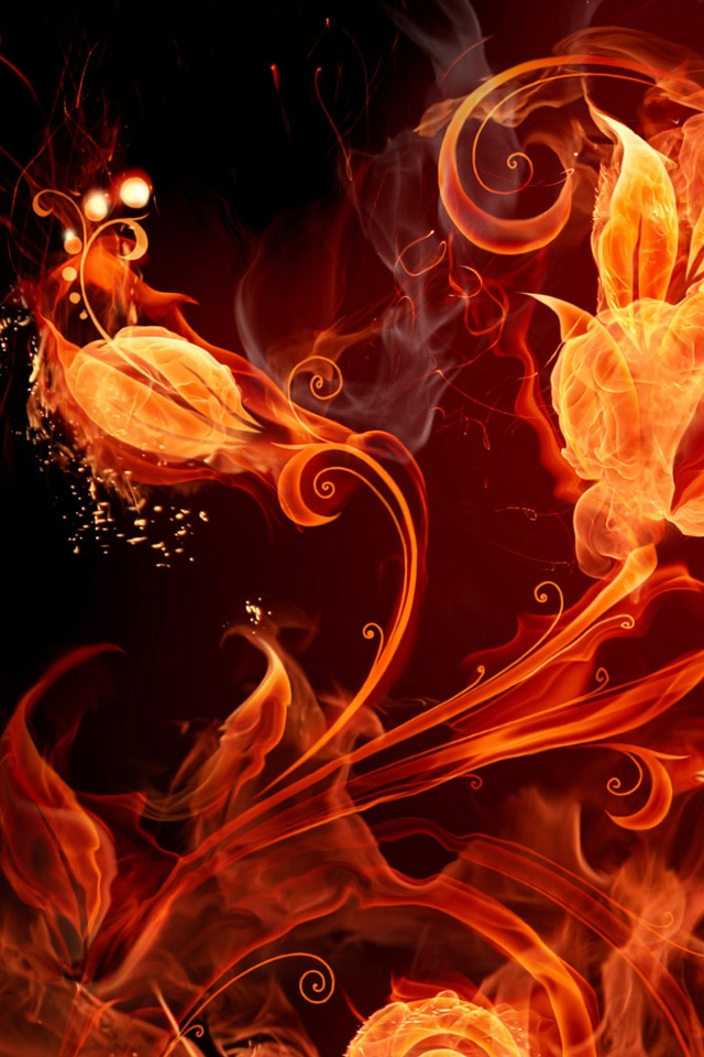 炎のデザイン