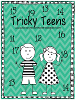 http://www.teacherspayteachers.com/Product/Tricky-Teen-Numbers-940265