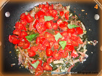 Tortellini Speck e pomodorini