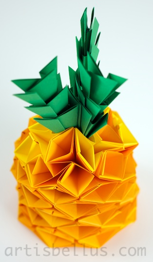 origami pineapple 28 images origami 3d pineapple and