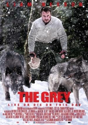 The Grey (2012) 480p BRRip Poster