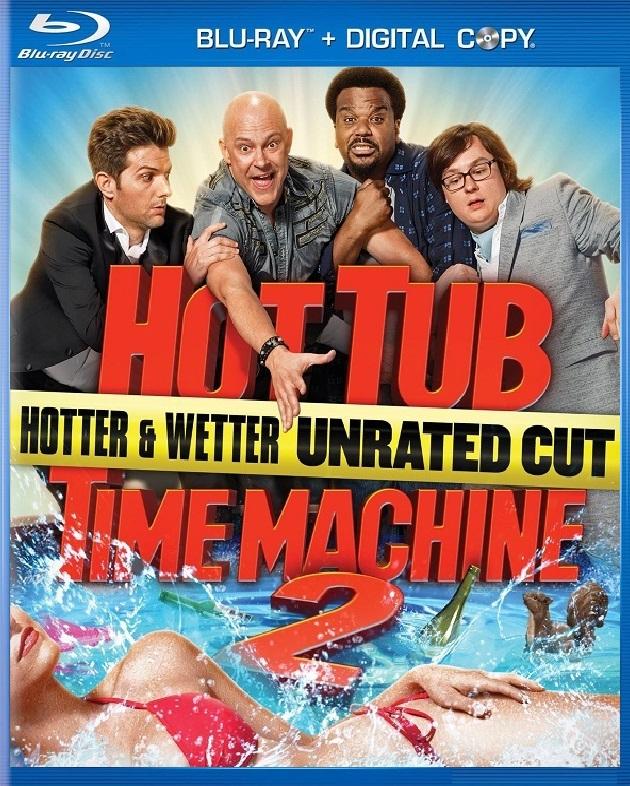 [มาใหม่ 1080P HQ ซับไทย] Hot Tub Time Machine 2 (2015) สี่เกลอเจาะเวลาทะลุโลกอนาคต