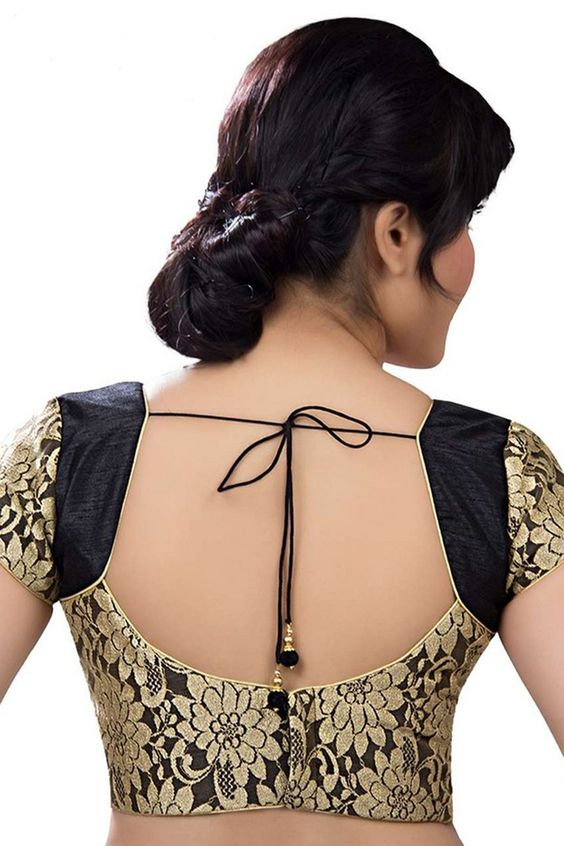 Blouse back neck designs with stone work Blouse back neck designs with stone work new foto