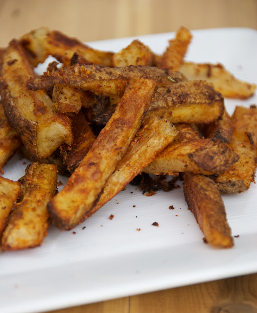Crispy Oven Fries | a kitchen cafe