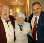 Baroness Shirley Williams and Gwynoro
