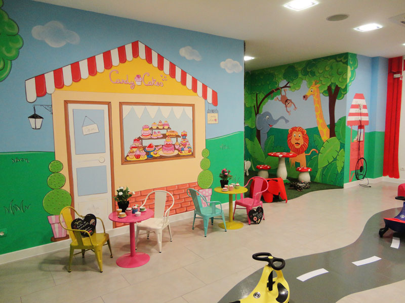 Decopared murales infantiles decorativos for Decoracion para paredes infantiles