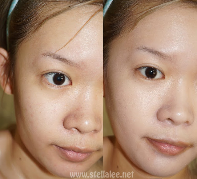 Banila co. Natural Face CC Cream Before After
