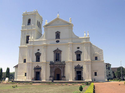 Sé Cathedral of Santa Catarina Goa Velha