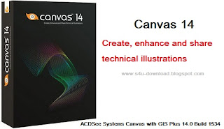 ACDSee Systems Canvas with GIS Plus 14.0 Build 1534