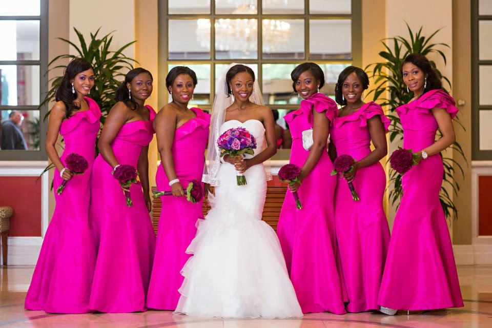 bridesmaids in color of the year ~ wedding bells Wedding Blogs In Tanzania Wedding Blogs In Tanzania #7 wedding blogs in tanzania