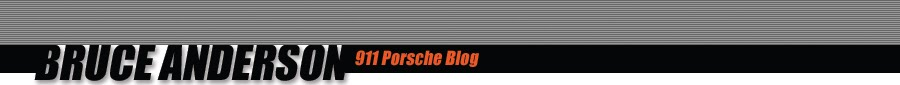 Bruce Anderson 911 Porsche Blog