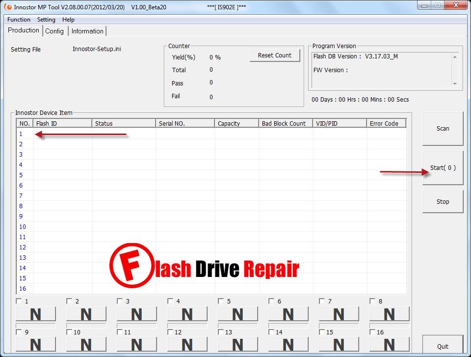 Innostor IS902E Sorting Tool v2.08.00.07 Download