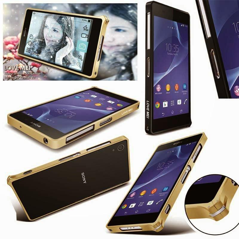Jual Love Mei Metal Bumper Case Sony Xperia Z2 L50 D6503