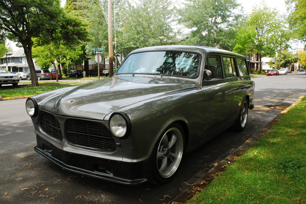 1965 Mustang Station Wagon >> OLD PARKED CARS.: Badgeless 1965 Volvo 122S Station Wagon.