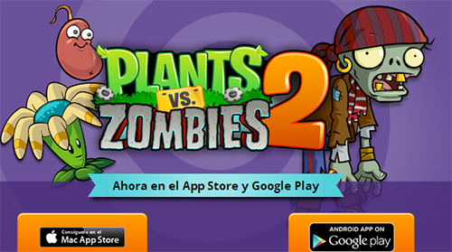 Plants vs. Zombies 2 disponible nueva actualizacion (Android e i OS)