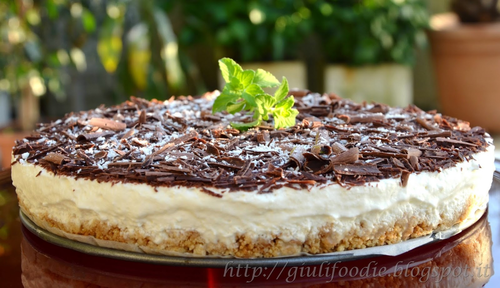 tripla c:  cheesecake cioccolato e cocco