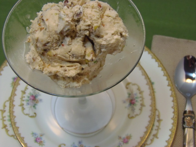 Maple Pistachio Ice Cream Recipe