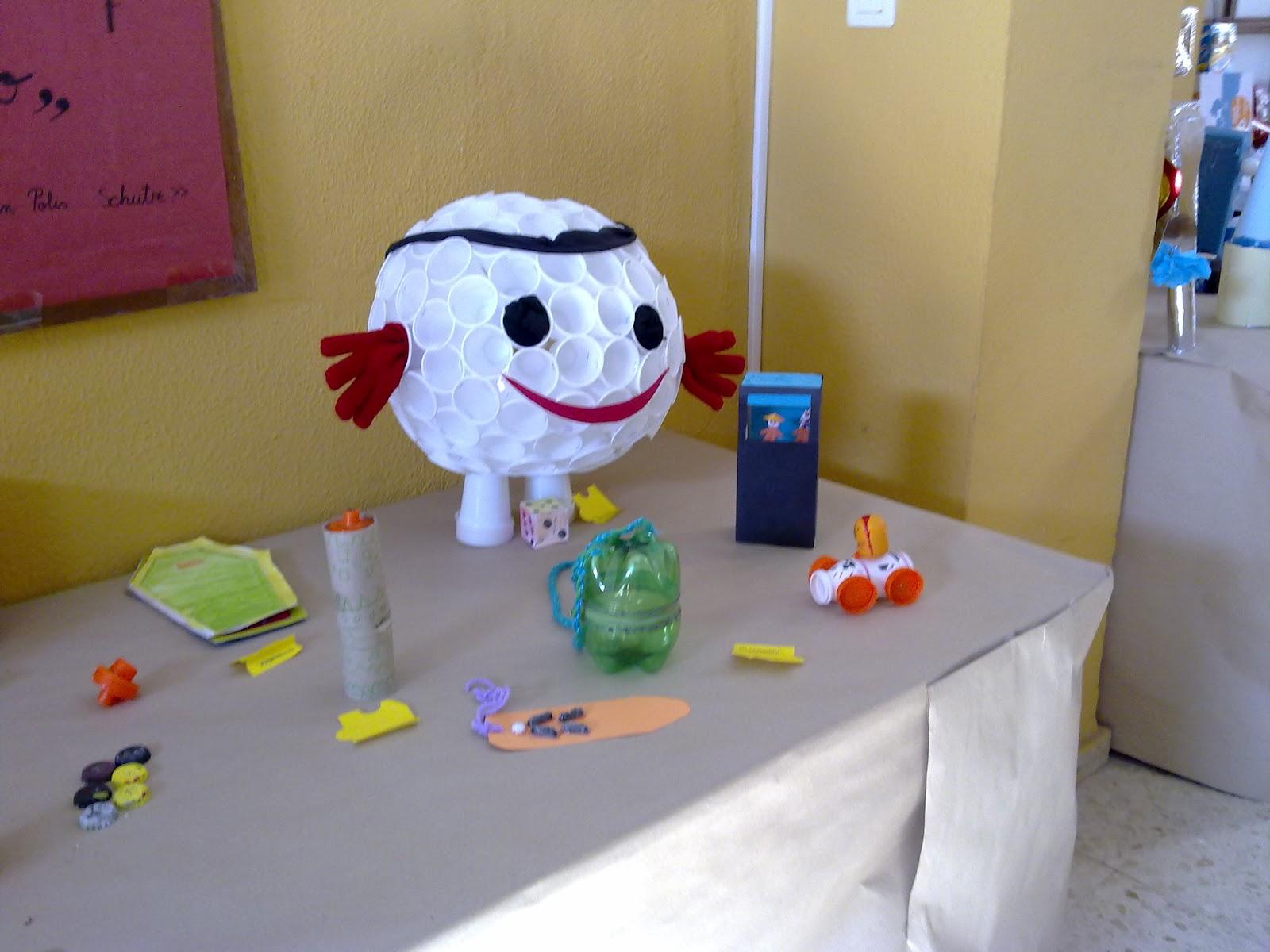 Trabajos manuales con material reciclable - Trabajos manuales para ninos de primaria ...