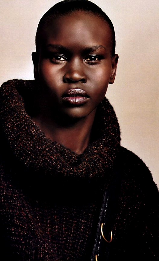 Sudanese Refugee to International Supermodel, Designer, Fashion Model ...