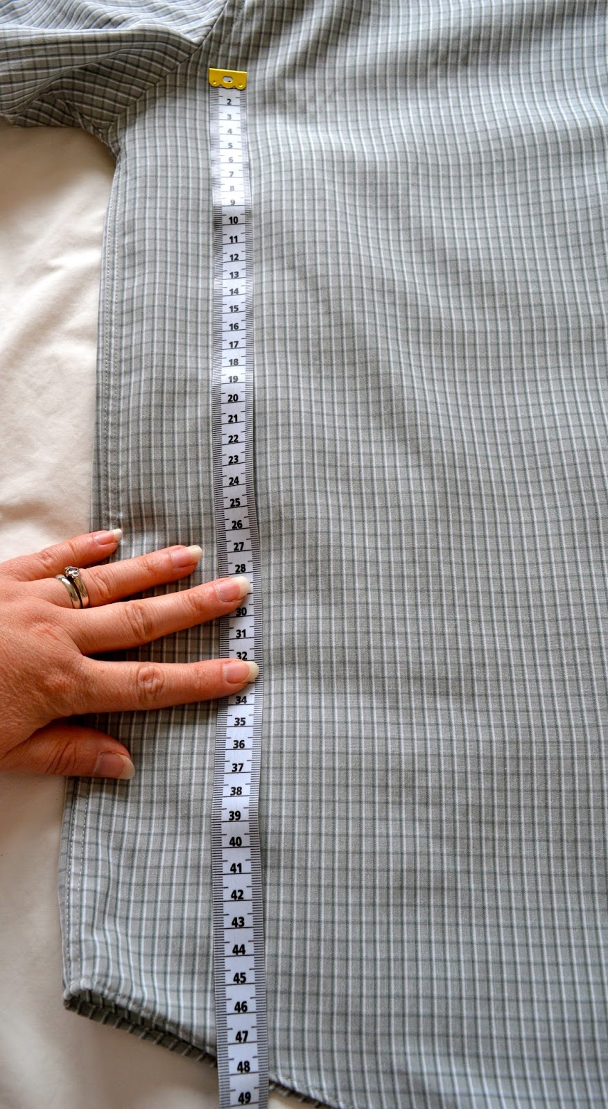 Men's Shirt Cushion Tutorial