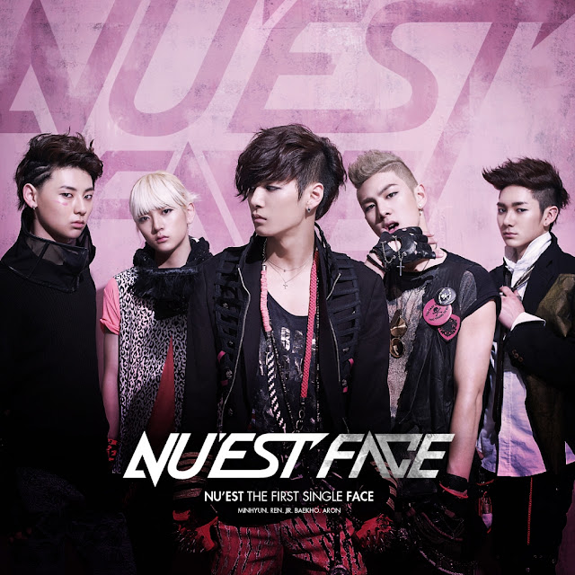 """[Discografia] Album """"FACE"""" NUESTFACE"""