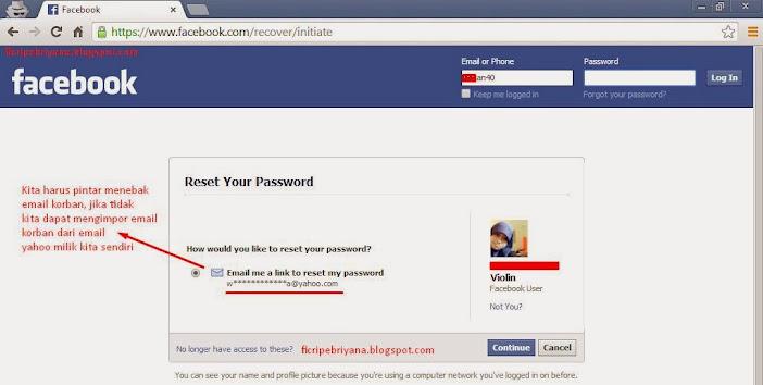 Cara Memperbaiki Akun Facebook