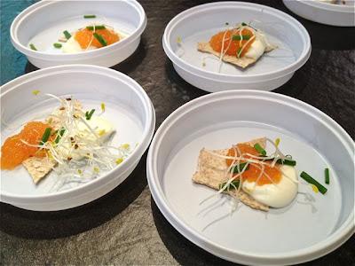 Degustación platos noruegos
