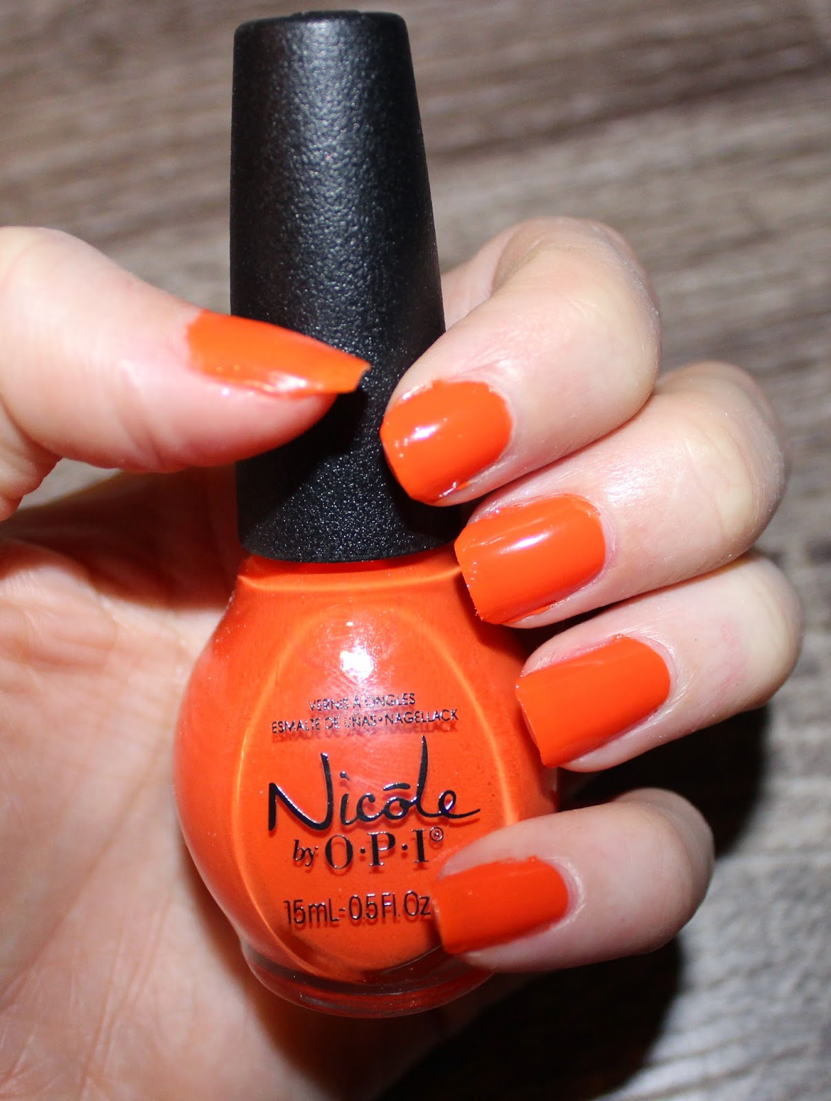 Nicole By OPI The Look is Orange