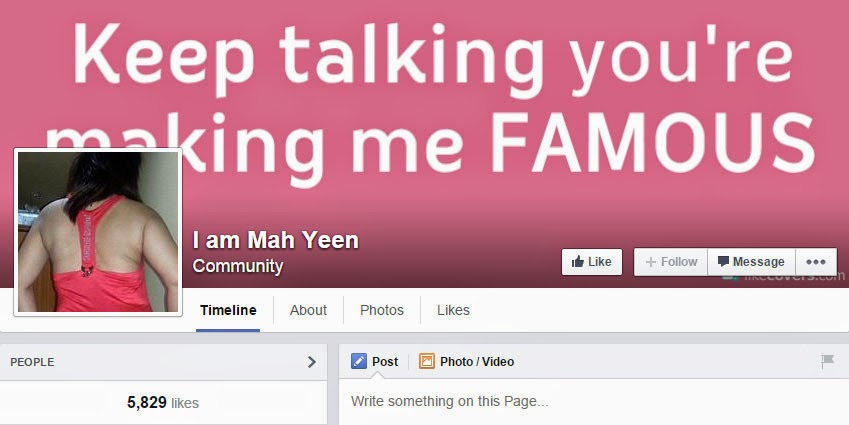 Mah Yeen Facebook page