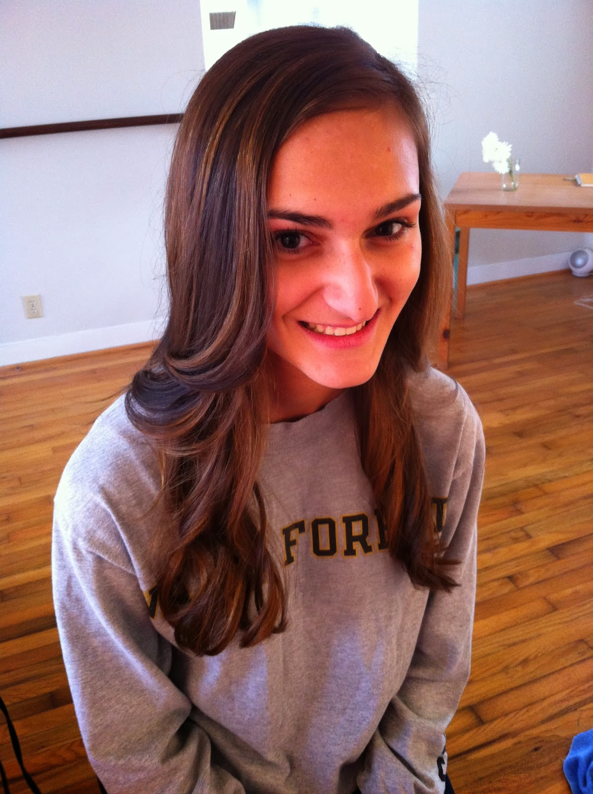 Sophie S Ombre Caramel Low Lights Lorin Van Zandt Hair