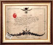 Kekancingan (Surat Ketetapan) dari Keraton Soerakarta.