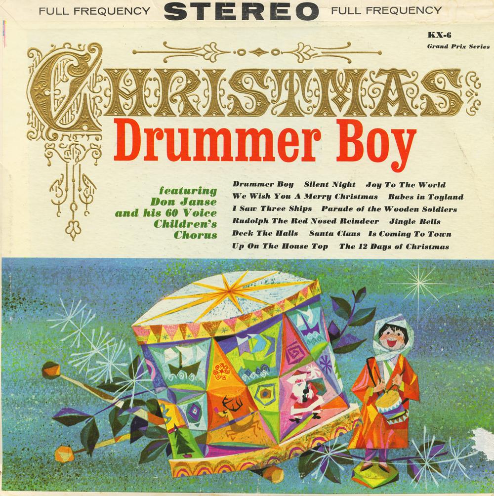 christmas album covers