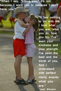Cute children baby in love quotes and saying