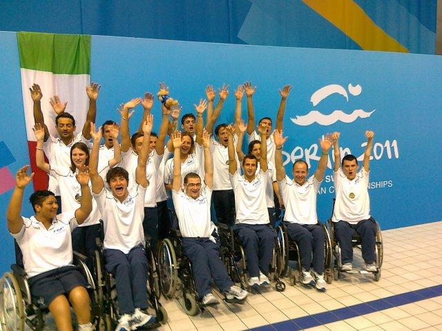 Nazionale di Nuoto Paralimpico
