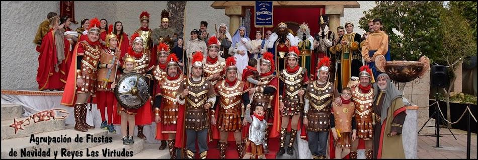 Agrupación de Fiestas de Navidad y Reyes Las Virtudes - Villena